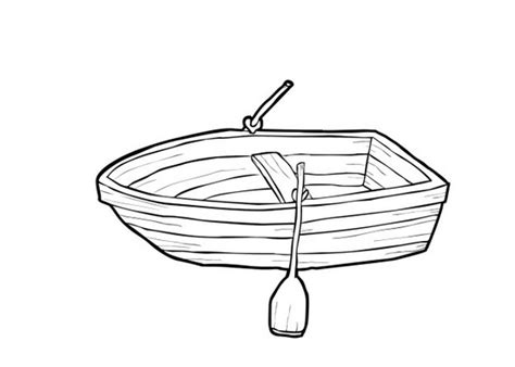 Row Boat Coloring Page by Row Boat Coloring Page