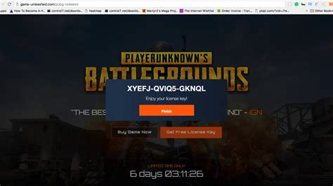 Download pubg key tool and generate your own unique unused license key for free. How To Get Player Unknown Battlegrounds For Free - YouTube