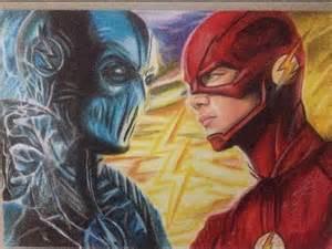 Zoom vs Flash Drawing
