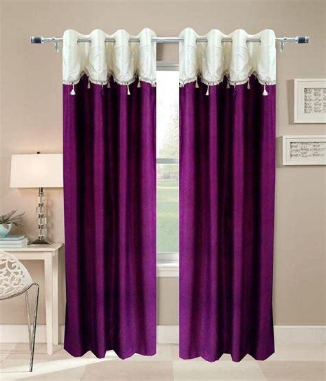 homefab india designer wine curtain solid buy homefab