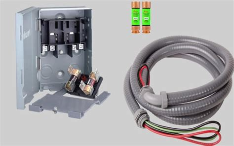 quick disconnect switch kit 35 40 45 50 60 split air conditioners