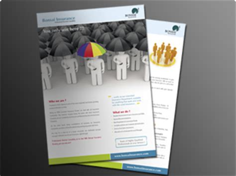 single page brochure printing upload