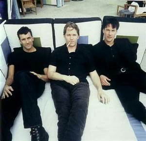 Keanu Reeves with his former band .. Dogstar I was able to ...