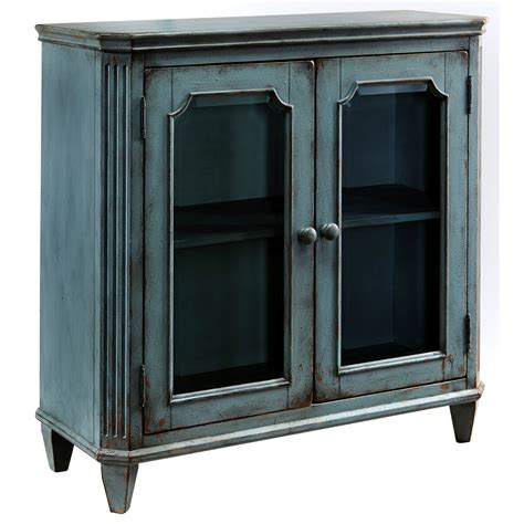 accent cabinet with doors provincial style glass door accent cabinet in