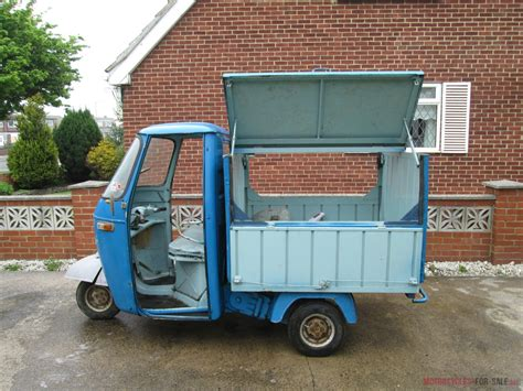 For Sale by Vespa Ape Piaggio Tuk Tuk Micro Car Scooter Barn Find