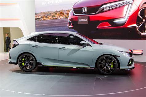 Honda Civic Hatchback Picture by Honda Civic Hatchback Teased Ahead Of 2016 Geneva Debut