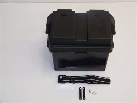 Small Boat Battery by Marine Battery Storage Box