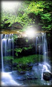 Waterfall Live Wallpaper free android app - Android Freeware