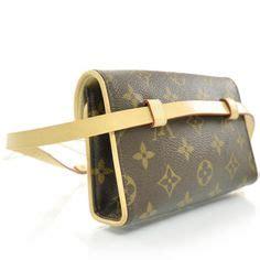 vintage louis vuitton monogram canvas fanny packbelt bag