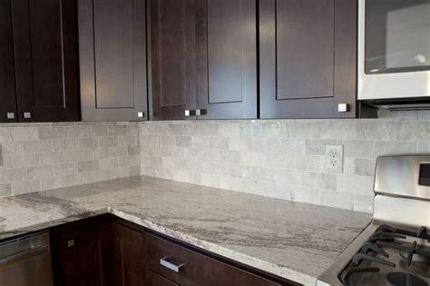 meram carrara marble subway tile from the tile shop river white granite kitchen renovation