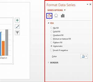 Changing Fill And Border Of Charts In Powerpoint 2013 For