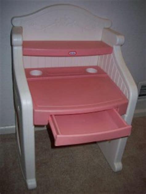 Tikes Desk Pink by Euc Vintage Tikes Pink White Desk Will