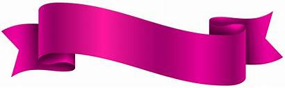 Banner Transparent Clip Clipart Ribbon Blank Banners