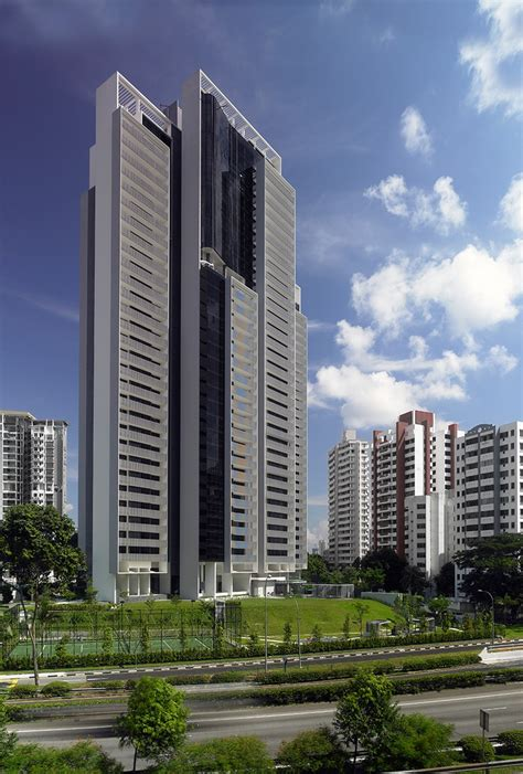 The Arte Singapore Scda Architects Skyscrapers