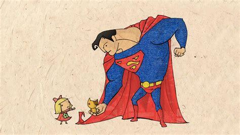 superman  funny desks wallpaper