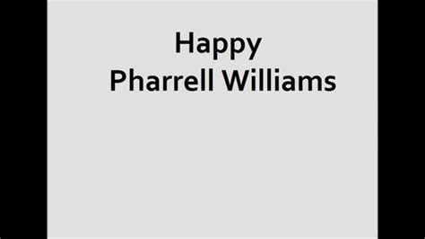 happy pharrell testo happy pharrell williams testo pi 249 traduzione in italiano