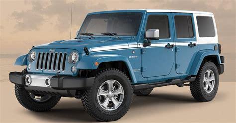 chief jeep color jeep wrangler gets a couple more special editions before