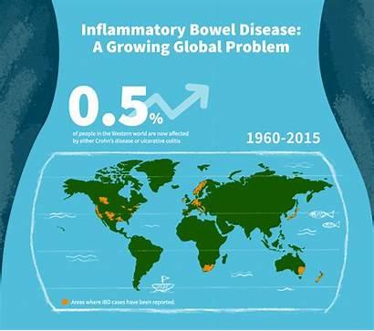 Bowel Disease Inflammatory Global Problem Growing Ibd