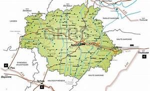 Carte Du Gers Détaillée : carte du gers vacances arts guides voyages ~ Maxctalentgroup.com Avis de Voitures