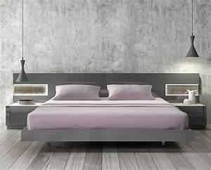 Modern Platform Bed Casual Cottage