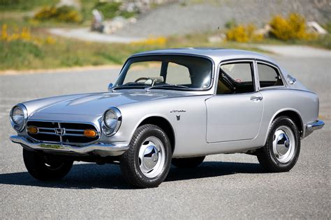 The Honda S800 Coupe Is a Tiny Bundle of Outrageous