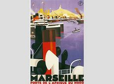 15 Beautiful French ArtDeco Travel Posters by Roger