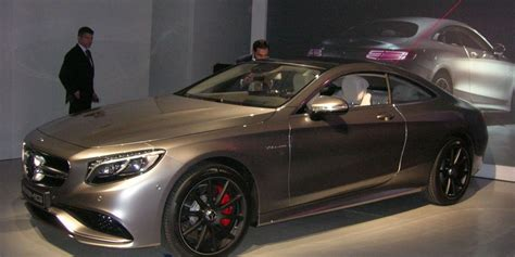 2015 mercedes s63 amg 4matic coupe. Mercedes unveils 2015 S63 AMG 4Matic Coupe in New York   Driving