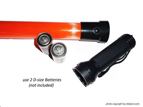 Import By Diskpro, 16.5 Inch Traffic Baton Flashlight, In