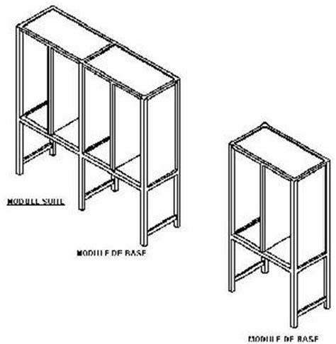 meuble bureau usagé meuble de rangement multi usage
