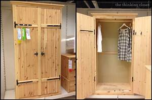 IKEA Hack: Fjell Wardrobe — the thinking closet