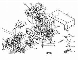 Magnavox Cd Player Parts