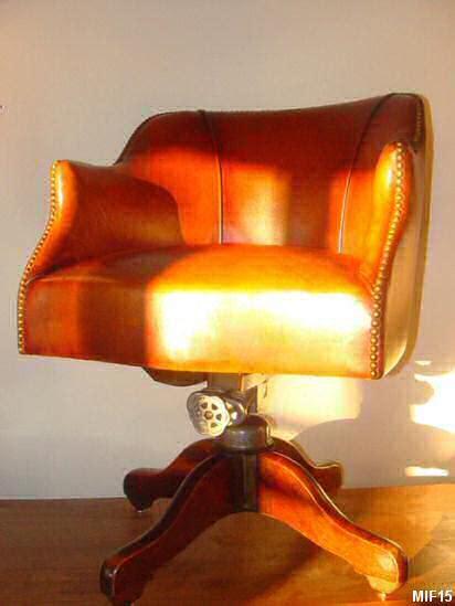 fauteuil de bureau anglais fauteuil anglais vers 1920