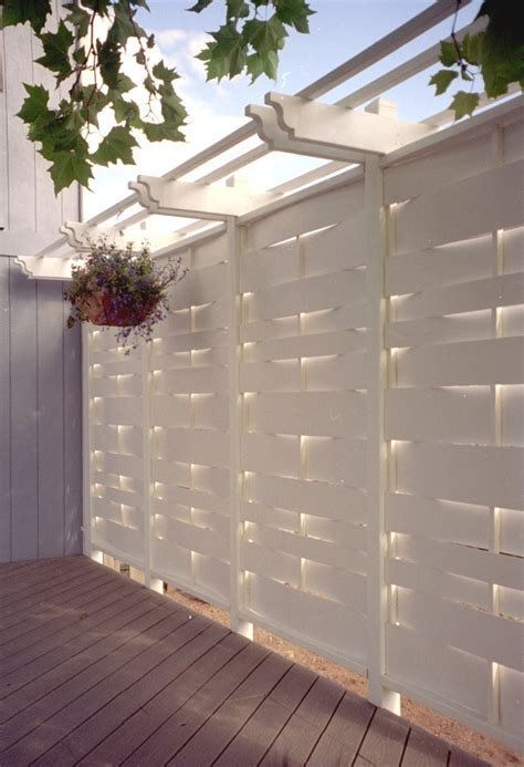 wooden outdoor privacy screens plans diy