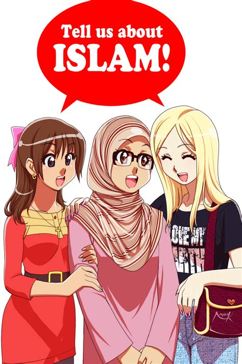 anime muslim wallpaper tell us about islam by nayzak on deviantart