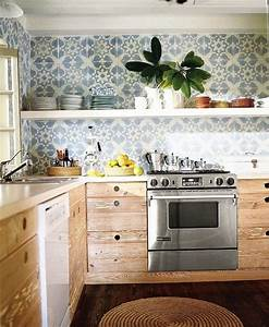20 amazing solid wood kitchens home interior design With kitchen cabinet trends 2018 combined with heart wall art stickers