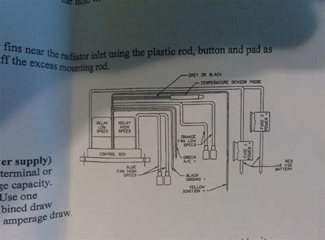 Electrical Contour Fan Wiring Help Mustang Forums