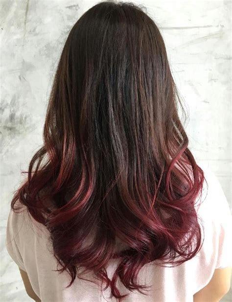 40 Vivid Ideas For Black Ombre Hair Dipped Hair Dip Dye