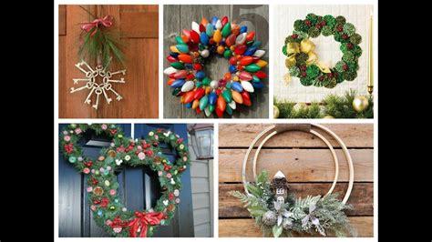 winter decorating ideas christmas wreath diy inspiration  winter wreath ideas youtube