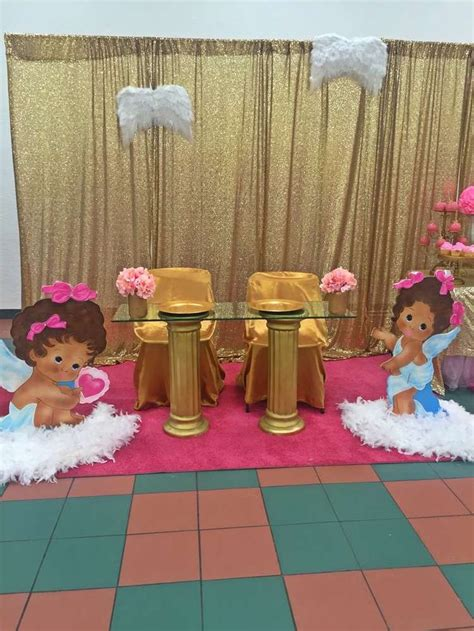 heaven themed baby shower angel heaven baby shower party ideas baby shower parties babies and shower party