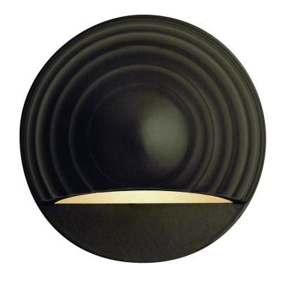 Home Depot Recessed Deck Lighting by Hinkley Lighting Bronze Recessed Led Outdoor Deck Light