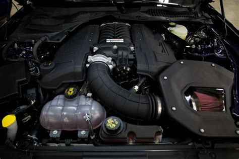 roush performance supercharger system  mustang gt