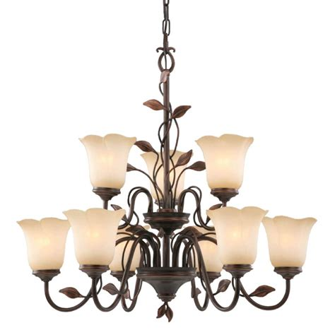 9 light chandelier allen roth fym8119a 5 9 light eastview bronze chandelier