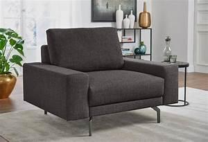 Big Sofa Mit Sessel Big Sofa Mit Einem Feinem Webstoff In Grau