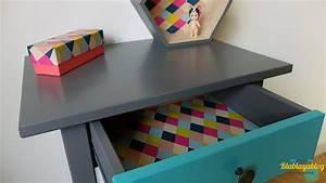 Rouleau Adhésif Décoratif Ikea : relooker un meuble ikea blablayablogblablayablog ~ Dode.kayakingforconservation.com Idées de Décoration