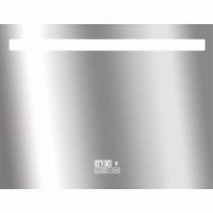 Miroir Salle De Bain Bluetooth : miroir lumineux eclairage int gr x cm ~ Dailycaller-alerts.com Idées de Décoration