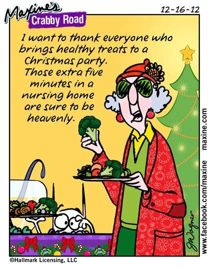 christmas party humor maxine suburbanprincessteacher