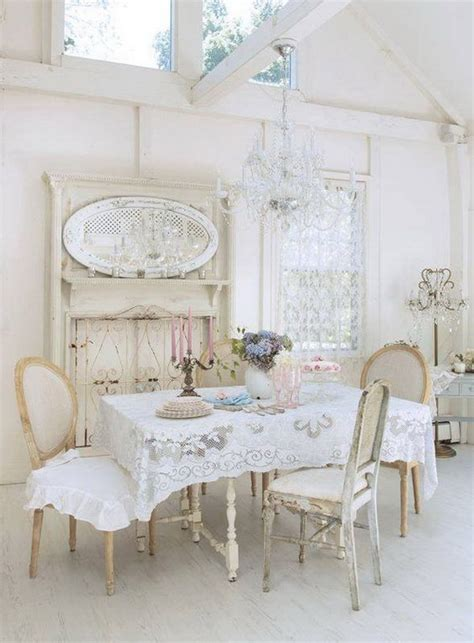 Shabby Chic Esszimmer by 35 Beautiful Shabby Chic Dining Room Decoration Ideas