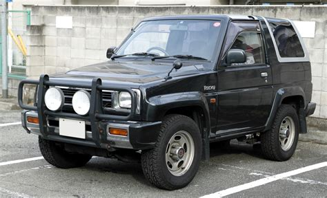 Daihatsu Feroza History, Photos On Better Parts Ltd