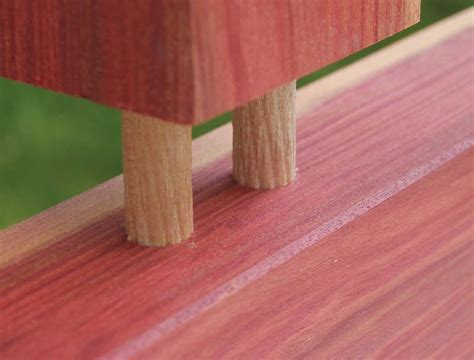 strong   dowel joint canadian woodworking magazine