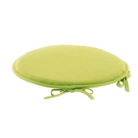 galette de chaise ronde 100 coton vert vert autres ebay